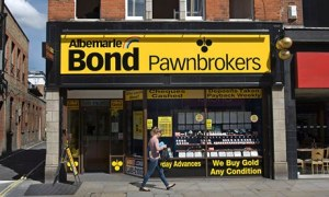 albemarle & bond pawnbrokers in hammersmith, west london, england