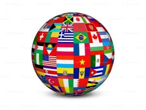 flags-globe